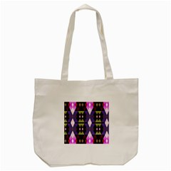 Geometric Abstract Background Art Tote Bag (cream)