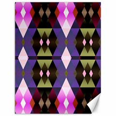 Geometric Abstract Background Art Canvas 12  X 16