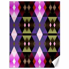 Geometric Abstract Background Art Canvas 36  X 48