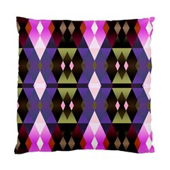 Geometric Abstract Background Art Standard Cushion Case (One Side)