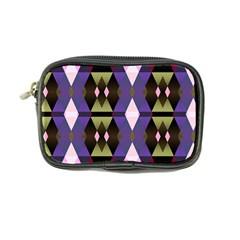 Geometric Abstract Background Art Coin Purse