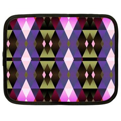 Geometric Abstract Background Art Netbook Case (XL)
