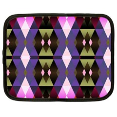 Geometric Abstract Background Art Netbook Case (XXL)