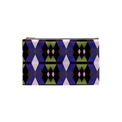 Geometric Abstract Background Art Cosmetic Bag (small)