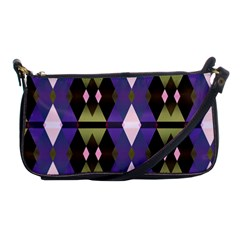 Geometric Abstract Background Art Shoulder Clutch Bags