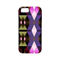 Geometric Abstract Background Art Apple Iphone 5 Classic Hardshell Case (pc+silicone)
