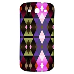 Geometric Abstract Background Art Samsung Galaxy S3 S Iii Classic Hardshell Back Case