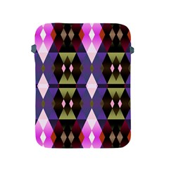 Geometric Abstract Background Art Apple iPad 2/3/4 Protective Soft Cases