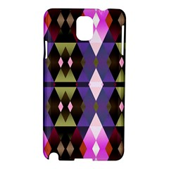 Geometric Abstract Background Art Samsung Galaxy Note 3 N9005 Hardshell Case
