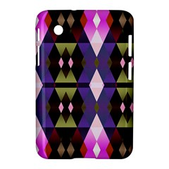 Geometric Abstract Background Art Samsung Galaxy Tab 2 (7 ) P3100 Hardshell Case