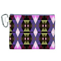 Geometric Abstract Background Art Canvas Cosmetic Bag (XL)