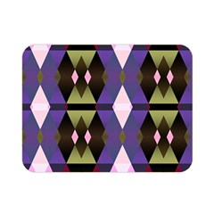 Geometric Abstract Background Art Double Sided Flano Blanket (Mini)