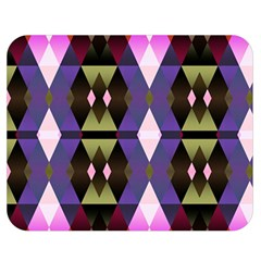 Geometric Abstract Background Art Double Sided Flano Blanket (Medium)