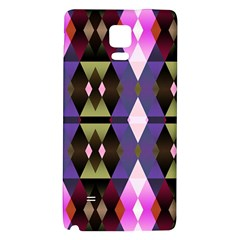 Geometric Abstract Background Art Galaxy Note 4 Back Case