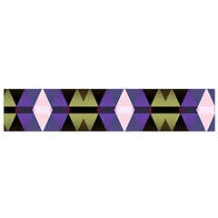 Geometric Abstract Background Art Flano Scarf (small)