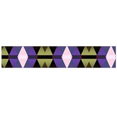 Geometric Abstract Background Art Flano Scarf (Large)
