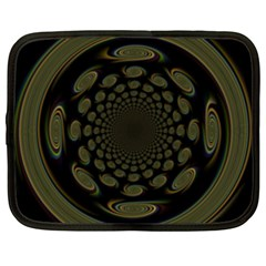 Dark Portal Fractal Esque Background Netbook Case (XXL)