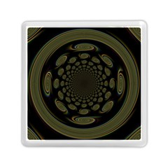Dark Portal Fractal Esque Background Memory Card Reader (Square)