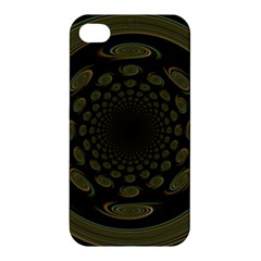 Dark Portal Fractal Esque Background Apple Iphone 4/4s Hardshell Case