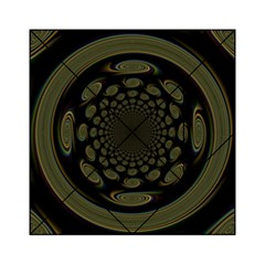 Dark Portal Fractal Esque Background Acrylic Tangram Puzzle (6  x 6 )