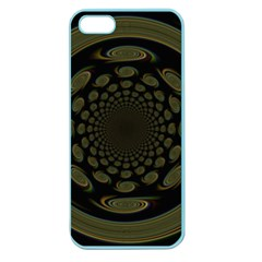 Dark Portal Fractal Esque Background Apple Seamless iPhone 5 Case (Color)