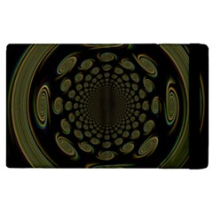 Dark Portal Fractal Esque Background Apple iPad 2 Flip Case