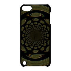 Dark Portal Fractal Esque Background Apple iPod Touch 5 Hardshell Case with Stand