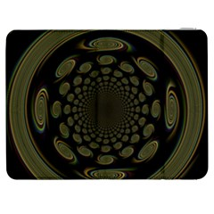 Dark Portal Fractal Esque Background Samsung Galaxy Tab 7  P1000 Flip Case