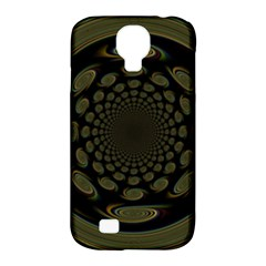 Dark Portal Fractal Esque Background Samsung Galaxy S4 Classic Hardshell Case (pc+silicone)