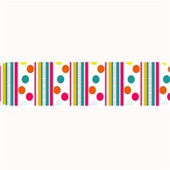 Stripes And Polka Dots Colorful Pattern Wallpaper Background Large Bar Mats