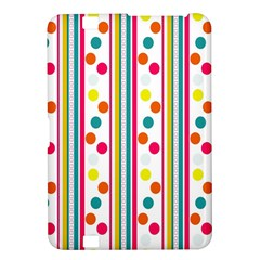 Stripes And Polka Dots Colorful Pattern Wallpaper Background Kindle Fire Hd 8 9