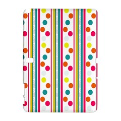 Stripes And Polka Dots Colorful Pattern Wallpaper Background Galaxy Note 1