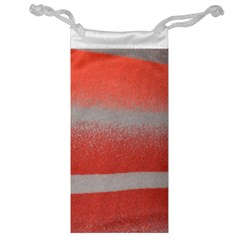Orange Stripes Colorful Background Textile Cotton Cloth Pattern Stripes Colorful Orange Neo Jewelry Bag