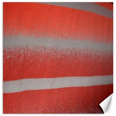 Orange Stripes Colorful Background Textile Cotton Cloth Pattern Stripes Colorful Orange Neo Canvas 20  x 20