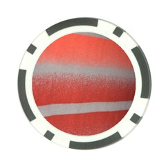 Orange Stripes Colorful Background Textile Cotton Cloth Pattern Stripes Colorful Orange Neo Poker Chip Card Guard