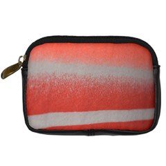 Orange Stripes Colorful Background Textile Cotton Cloth Pattern Stripes Colorful Orange Neo Digital Camera Cases