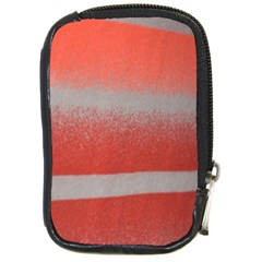 Orange Stripes Colorful Background Textile Cotton Cloth Pattern Stripes Colorful Orange Neo Compact Camera Cases