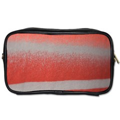 Orange Stripes Colorful Background Textile Cotton Cloth Pattern Stripes Colorful Orange Neo Toiletries Bags