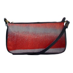 Orange Stripes Colorful Background Textile Cotton Cloth Pattern Stripes Colorful Orange Neo Shoulder Clutch Bags