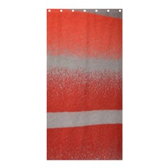 Orange Stripes Colorful Background Textile Cotton Cloth Pattern Stripes Colorful Orange Neo Shower Curtain 36  x 72  (Stall)