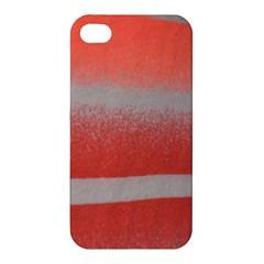 Orange Stripes Colorful Background Textile Cotton Cloth Pattern Stripes Colorful Orange Neo Apple Iphone 4/4s Premium Hardshell Case
