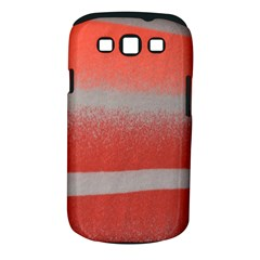 Orange Stripes Colorful Background Textile Cotton Cloth Pattern Stripes Colorful Orange Neo Samsung Galaxy S Iii Classic Hardshell Case (pc+silicone)