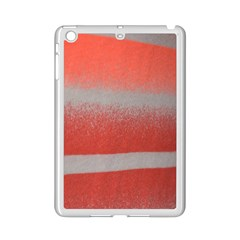Orange Stripes Colorful Background Textile Cotton Cloth Pattern Stripes Colorful Orange Neo iPad Mini 2 Enamel Coated Cases