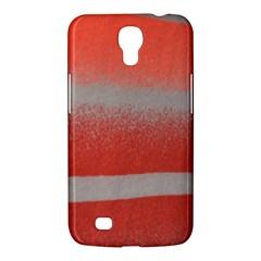 Orange Stripes Colorful Background Textile Cotton Cloth Pattern Stripes Colorful Orange Neo Samsung Galaxy Mega 6 3  I9200 Hardshell Case