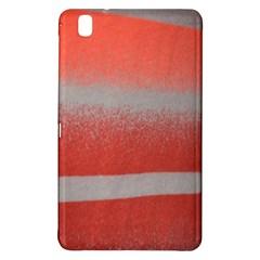 Orange Stripes Colorful Background Textile Cotton Cloth Pattern Stripes Colorful Orange Neo Samsung Galaxy Tab Pro 8.4 Hardshell Case