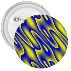 Blue Yellow Wave Abstract Background 3  Buttons