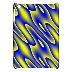Blue Yellow Wave Abstract Background Apple Ipad Mini Hardshell Case