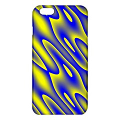 Blue Yellow Wave Abstract Background Iphone 6 Plus/6s Plus Tpu Case