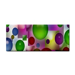 Colored Bubbles Squares Background Cosmetic Storage Cases