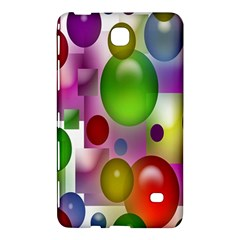 Colored Bubbles Squares Background Samsung Galaxy Tab 4 (7 ) Hardshell Case